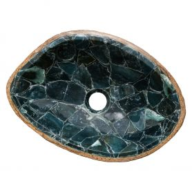 Magnus - semiprecious sink with agate
