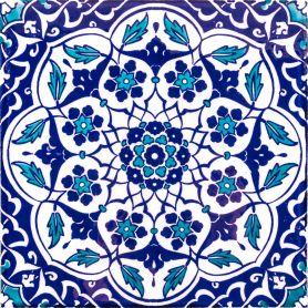 Taner - piastrelle di ceramica turche 20x20 cm, confezione da 12 (0,48 m2)