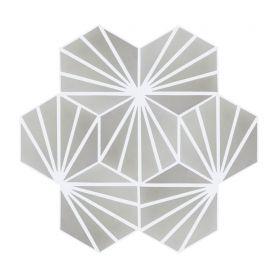 Laik - Piastrelle esagonali in cemento