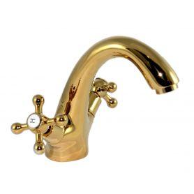 Bella - miscelatore lavabo oro