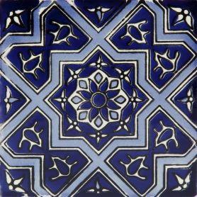 Ramona - Piastrelle Messicane in Ceramica 30 pezzi Talavera