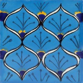 Juanma - Piastrelle Messicane in Ceramica 30 pezzi Talavera
