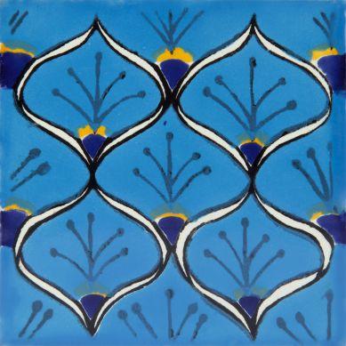 Juanma - Piastrelle Messicane in Ceramica 30 pezzi