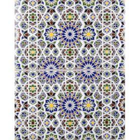 Maher - mosaico marocchino in ceramica