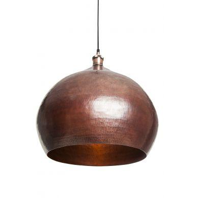 Cebolla - lampada messicana patinata - rame puro