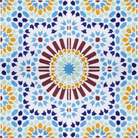 Baha - piastrelle Tunisine 20x20cm, 12 piastrelle incluse 0,5m2