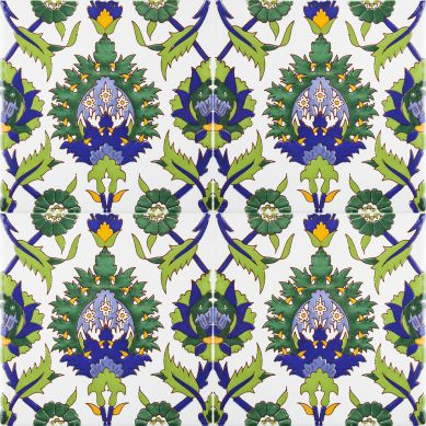 Bahira - piastrelle di ceramica con tonalità verde