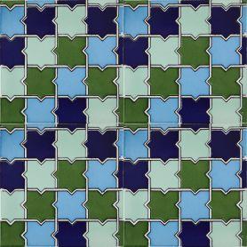 Basma - rivestimento in ceramica 15x15 cm, 22 piastrelle in scatola ( 0,5 m2 )