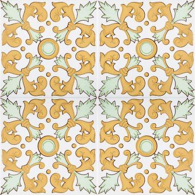 Navar - piastrelle giallo dalla Tunisia