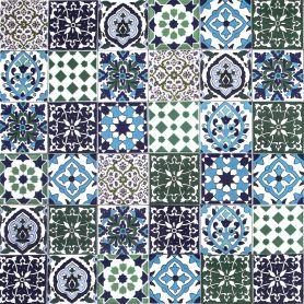 Muhit - piastrelle decorative stile marocchine 10 x 10 cm, 50 piastrelle (0,5m2)