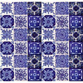 Tono - Mattonelle Messicane Blu Talavera