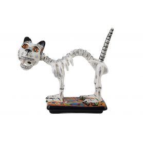 Gato y huesos - Il gatto messicano di La Catrina