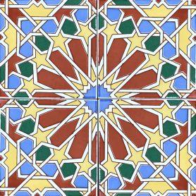 Eman - piastrelle da rivestimento colorate 15x15 cm, 22 piastrelle in scatola ( 0,5 m2 )