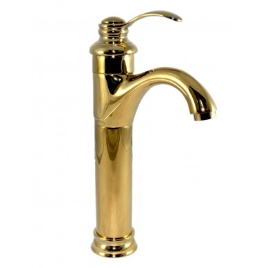 Rocco - miscelatore lavabo oro