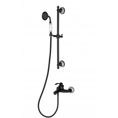 Zenaida - miscelatore doccia nero