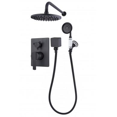 Estrella Black - doccia integrata nera