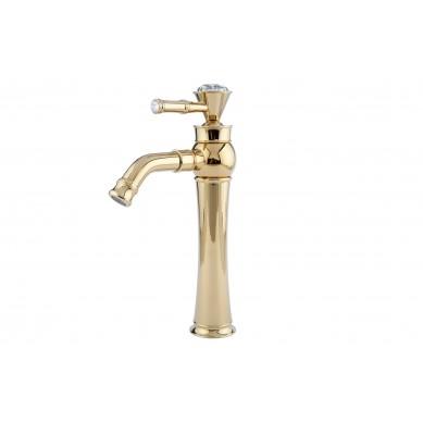 Ivette - miscelatore lavabo retro oro
