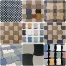 Mosaici pavimental / Plattas